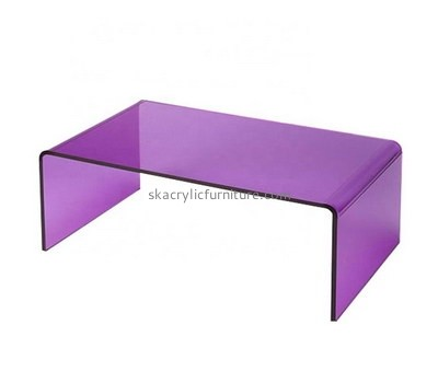 Custom purple acrylic side table AT-739