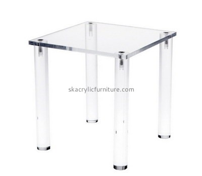 Custom square acrylic coffee table AT-745