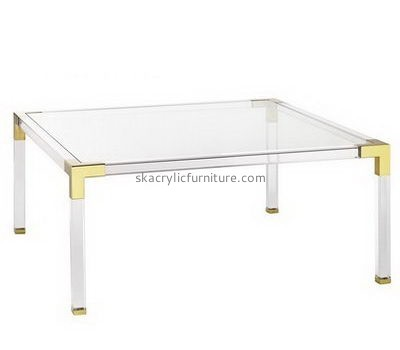 Custom clear acrylic coffee table AT-746