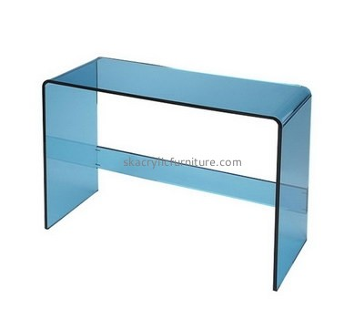 Custom acrylic narrow side table AT-749