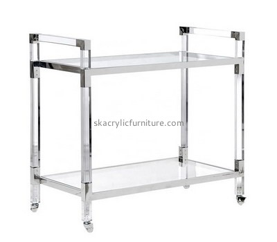 Custom 2 tiers acrylic side table AT-750