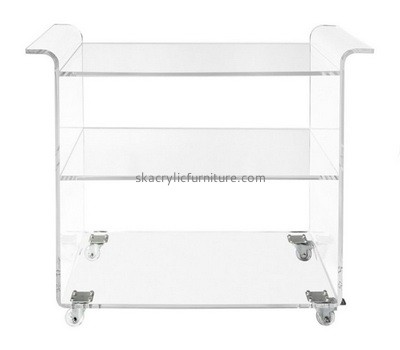 Custom 3 tiers acrylic side table AT-751