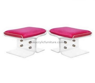Customized clear acrylic bar stools AC-018
