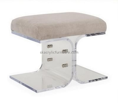 Customized clear acrylic stool AC-017