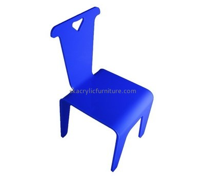 Custom blue acrylic chair AC-023