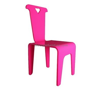 Custom pink acrylic chair AC-030
