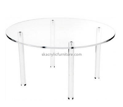 Custom round acrylic dining table AT-754