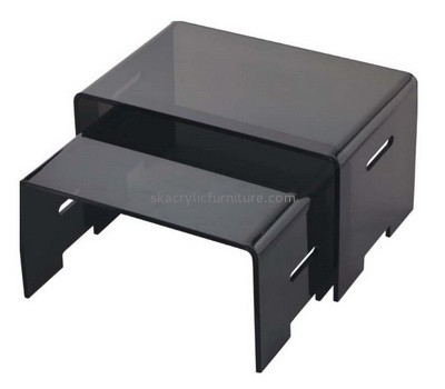 Custom black acrylic bed coffee tables AT-769