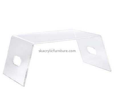 Custom acrylic bed table with handle holder AT-768