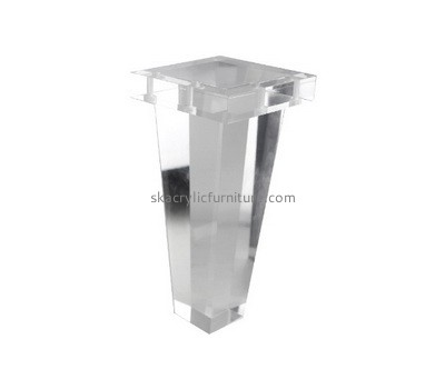 Custom plexiglass table leg AL-031