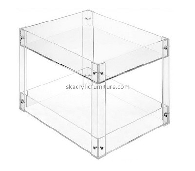 Custom acrylic 2 tiers side table AT-773